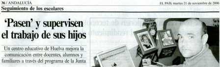 """CEIP """"Menéndez y Pelayo"""" en el periódico EL PAIS"""